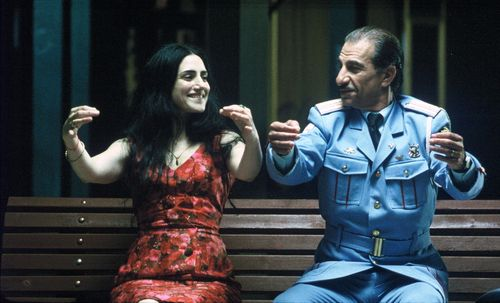 Sasson_Gabai_as_Tewfiq_and_Ronit_Elkabetz_as_Dina_Bench3